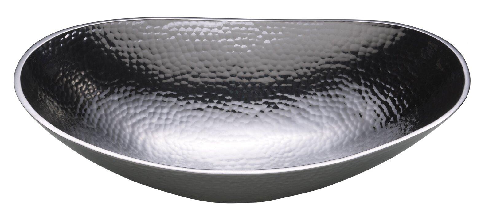 Cast Aluminum Fruit Bowl