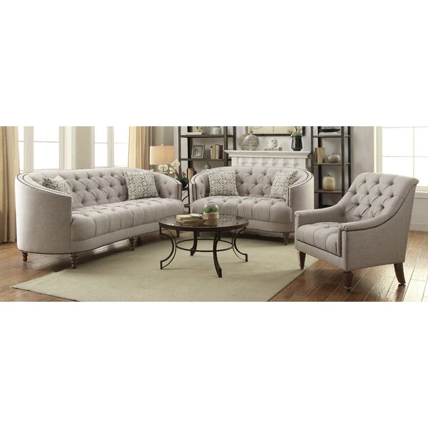 Lenum 3 Piece Living Room Set by Rosdorf Park