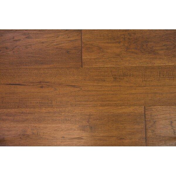 Copenhagen 7-1/2 Engineered Hickory Hardwood Flooring in Toffee by Branton Flooring Collection