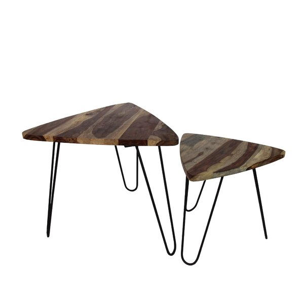 Cacho 2 Piece Coffee Table Set by Union Rustic