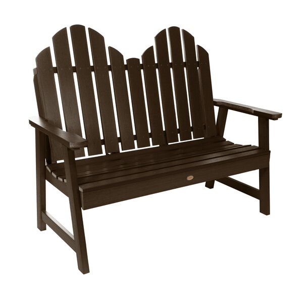 Nelsonville Classic Plastic Garden Bench by Bay Isle Home
