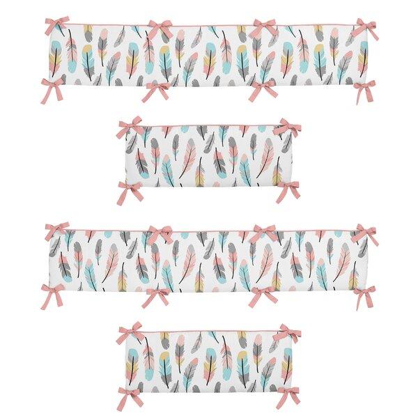 Feather Crib Bumper by Sweet Jojo Designs