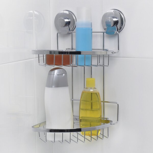 Endure Wall Mounted Shower Caddy by Everloc