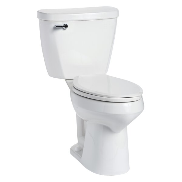 Summit SmartHeight 1.28 GPF Elongated Two-Piece Toilet by Mansfield Plumbing Products