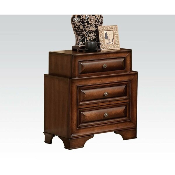 Mcnulty 3 Drawer Nightstand By Darby Home Co by Darby Home Co