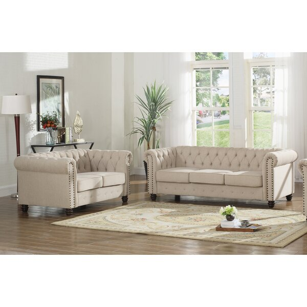 Sharniece 2 Piece Living Room Set by Ophelia & Co.