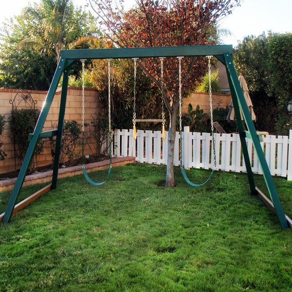 Congo Swing Central 3 Position Swing Set by Kidwise