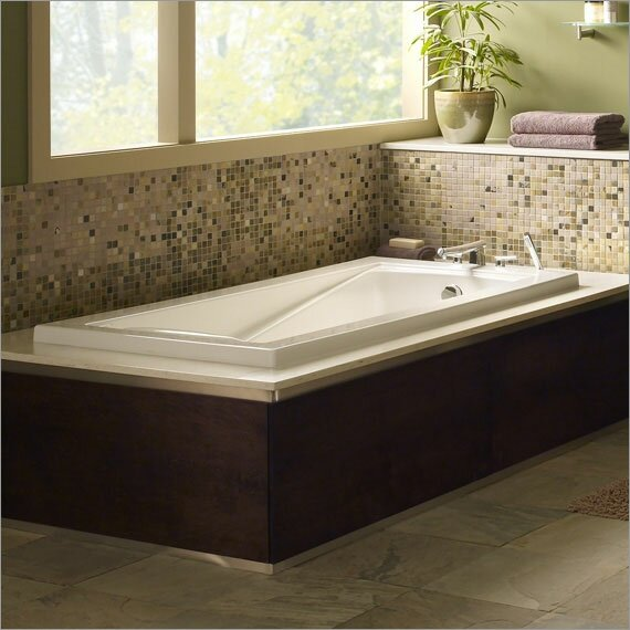Green Tea 60 x 36 Soaking Bathtub by American Standard