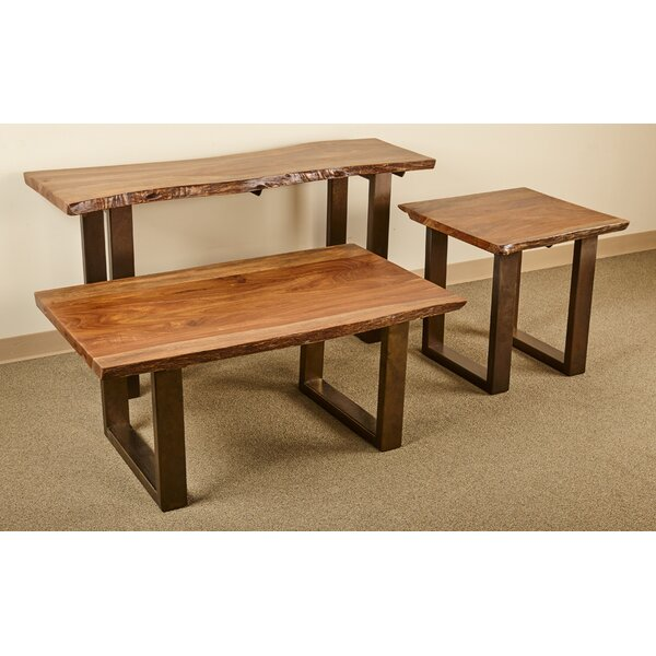 Waldon 3 Piece Coffee Table Set by Millwood Pines