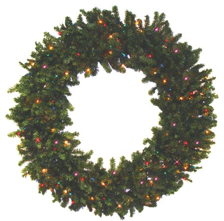 30 Battery Operated Pine Artificial Christmas Garland by Darice