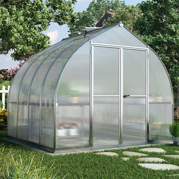 Bella 8 Ft. W x 8 Ft. D Greenhouse by Palram
