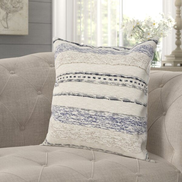 Holcomb Cotton Throw Pillow by Gracie Oaks