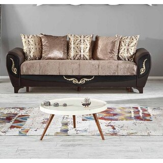 Legacy Plus Convertible Sofa Sleeper, Dropp Brown by Rosdorf Park SKU:BC364597 Shop