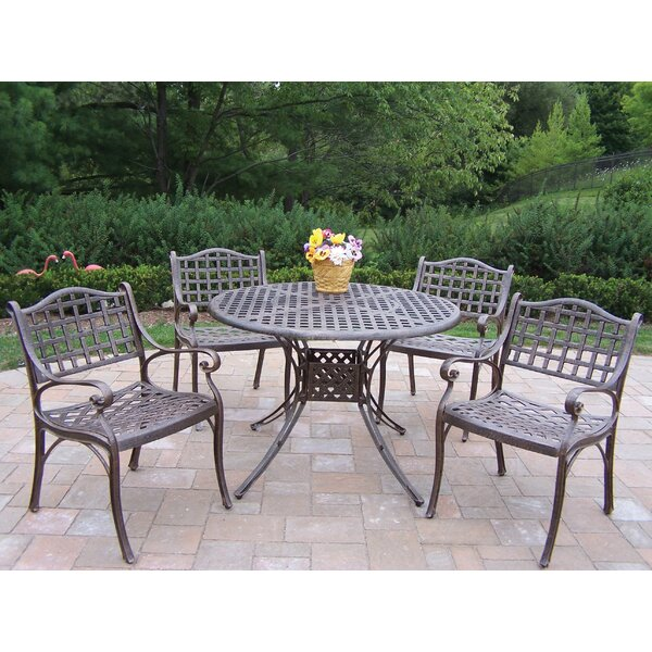 Elite 5 Piece Dining Set by Oakland Living