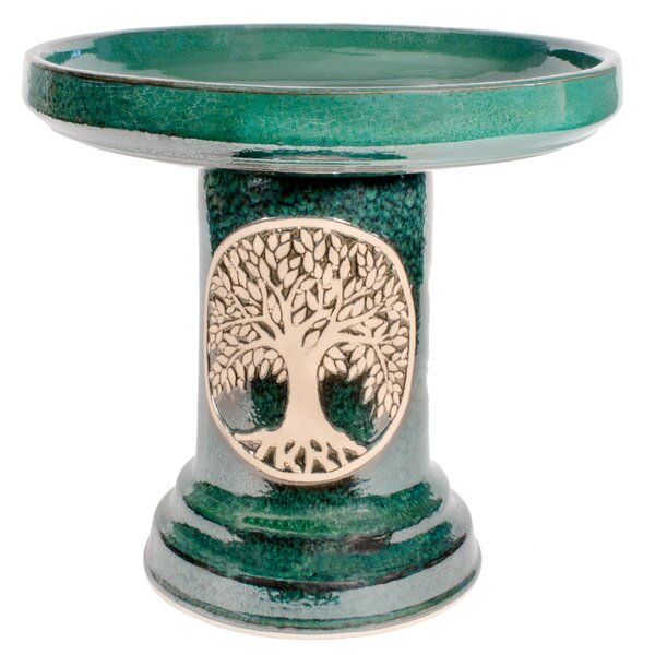 Flight Birdbath by Burley Clay