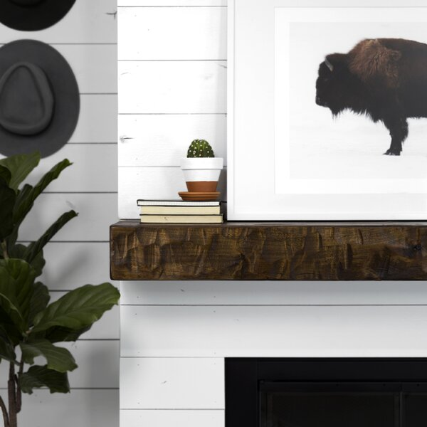 Rough Hewn Fireplace Shelf Mantel By Dogberry Collections