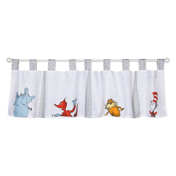 Dr. Seuss Friends 56 Window Valance by Trend Lab