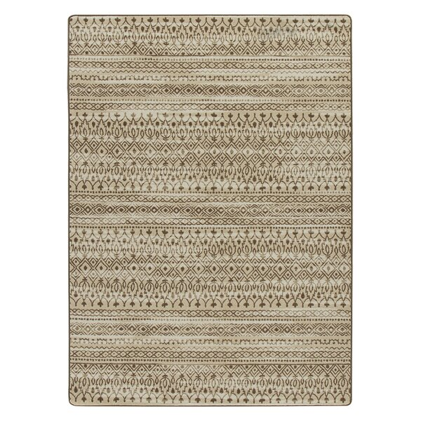 Tate Umber Area Rug by Bungalow Rose