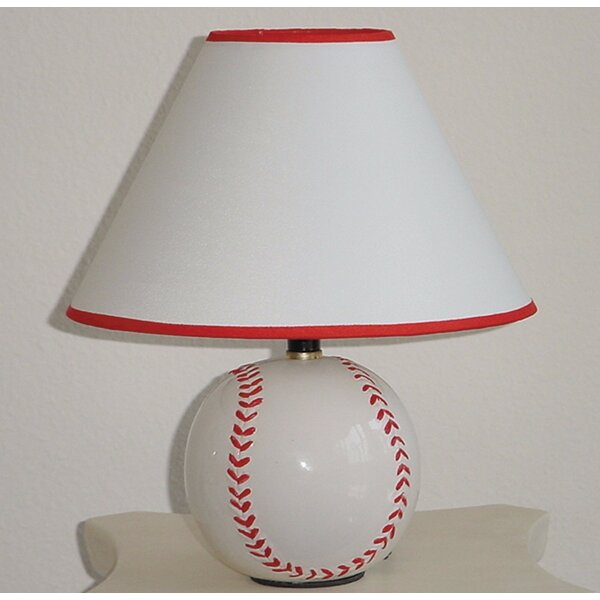 Hasse Baseball Inspired 15 Table Lamp (Set of 8) by Zoomie Kids