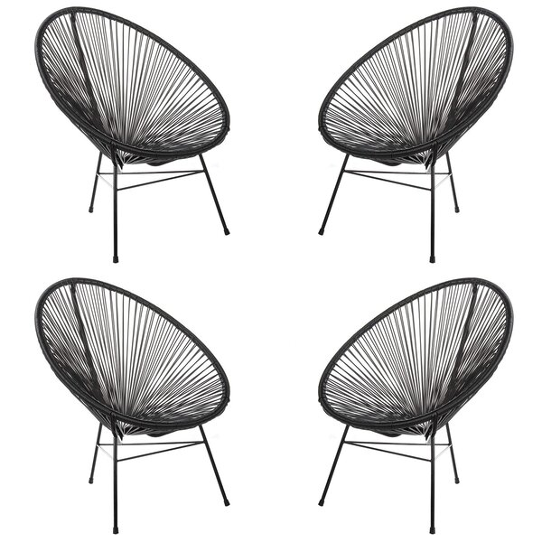 Masten Patio Chair (Set of 4) by Bungalow Rose