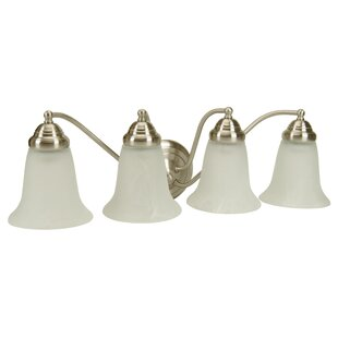 Best Deals Godines 4-Light Vanity Light By Winston Porter