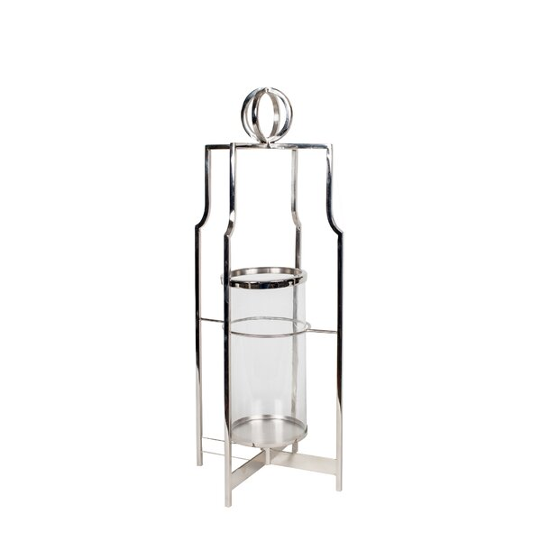 Glass Table Lantern by Darby Home Co
