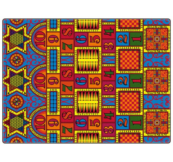 Educational Games That Teach Area Rug by Flagship Carpets