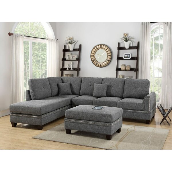 Marshal Reversible Sectional with Ottoman by Latitude Run
