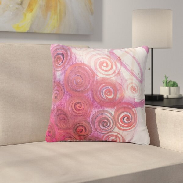 Maria Bazarova Abstractions Outdoor Throw Pillow by East Urban Home