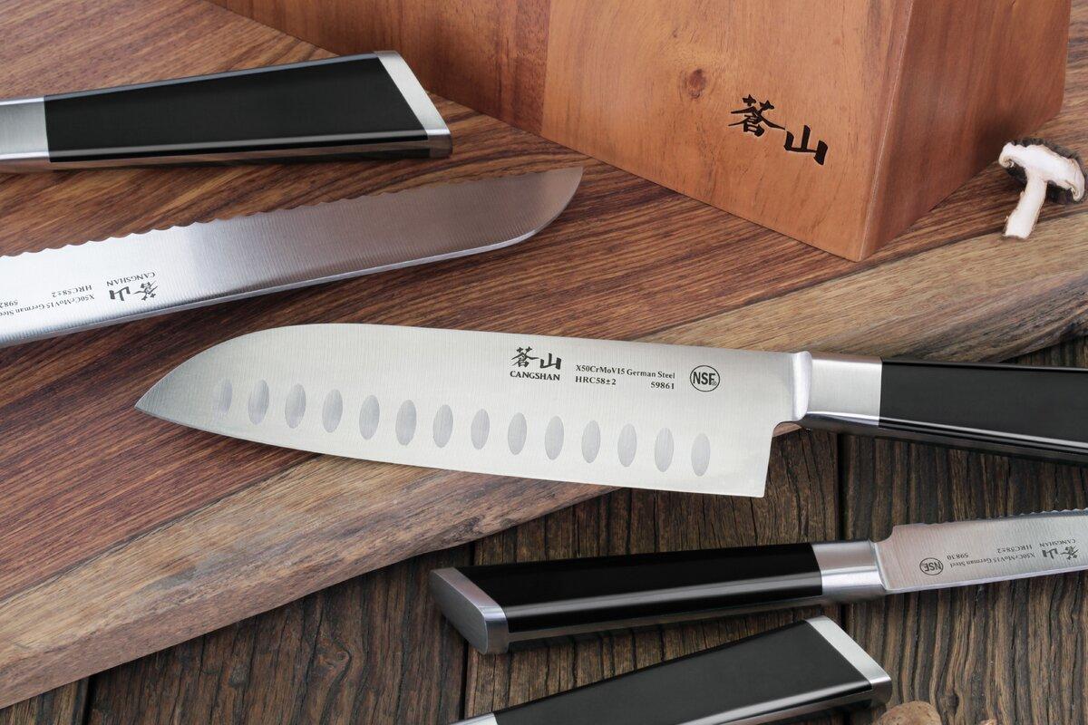 100 german kitchen knives wüsthof usa winco 7 piece