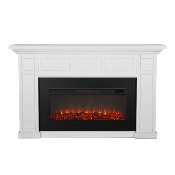 Alcott Landscape Electric Fireplace By Real Flame