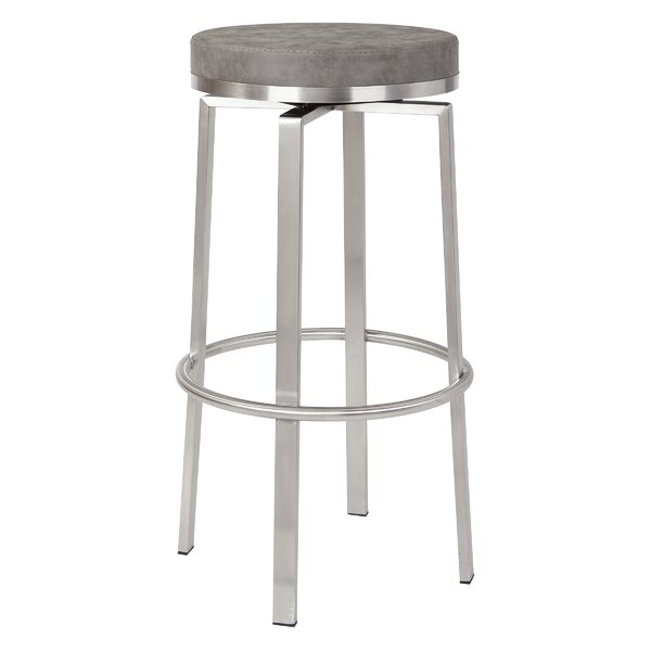 Oresman 30 Swivel Bar Stool (Set of 2) by Orren Ellis