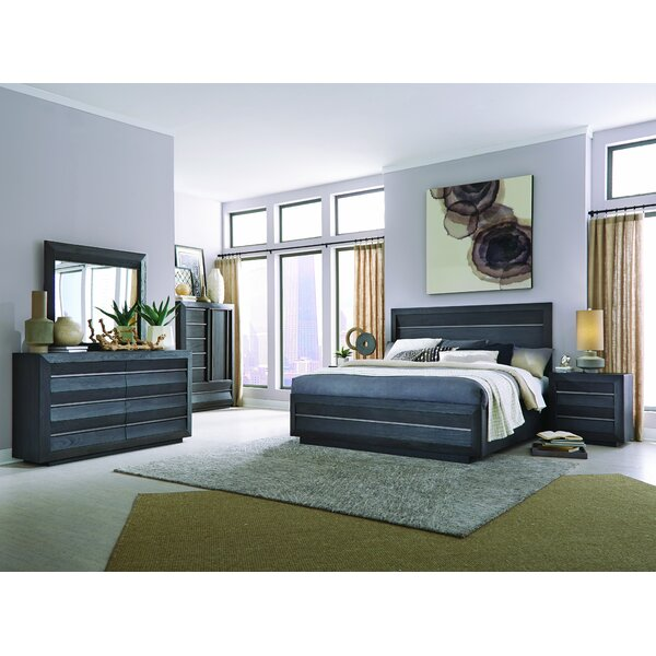 Bryant Wentwoth Village Sleigh Solid Wood Configurable Bedroom Set by Latitude Run Latitude Run