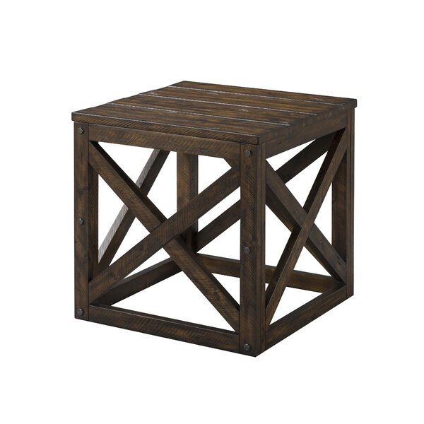 Cornish End Table by Gracie Oaks