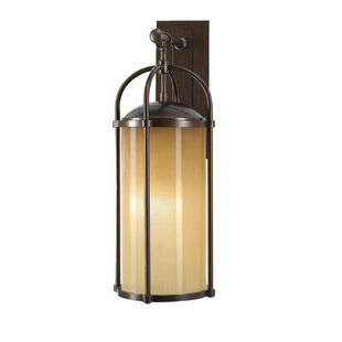 Read Reviews Espana 1-Light Outdoor Wall Lantern By Millwood Pines