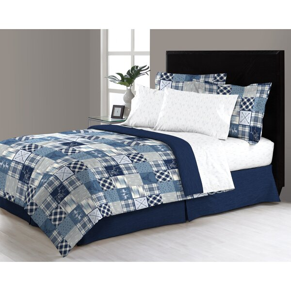 Lawrenceville Reversible Comforter Set by Loon Peak