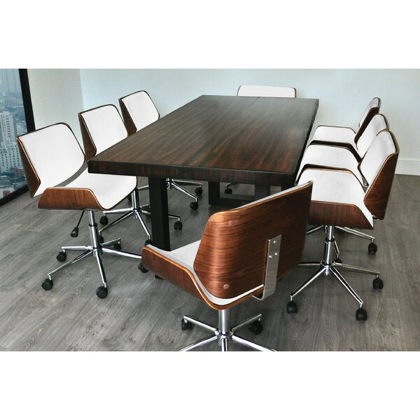 Scot Rectangular 31H x 38W x 86L Conference Table Set by Corrigan Studio