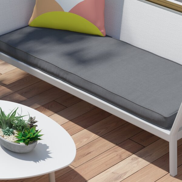 Telleman Indoor/Outdoor Sunbrella Bench Cushion by Latitude Run