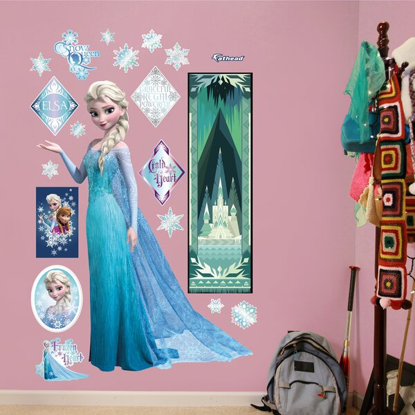 RealBig Disney Frozen Snow Queen Elsa Wall Decal by Fathead