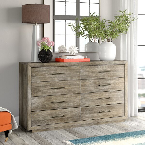 Chavira 8 Drawer Double Dresser by Brayden Studio