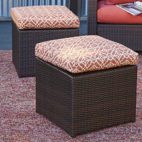 Mcmanis Outdoor Ottoman With Cushion (Set Of 2) By Ivy Bronx
