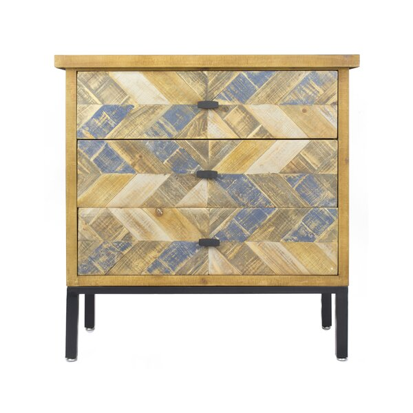 Dev 3 Drawer Accent Chest by Union Rustic