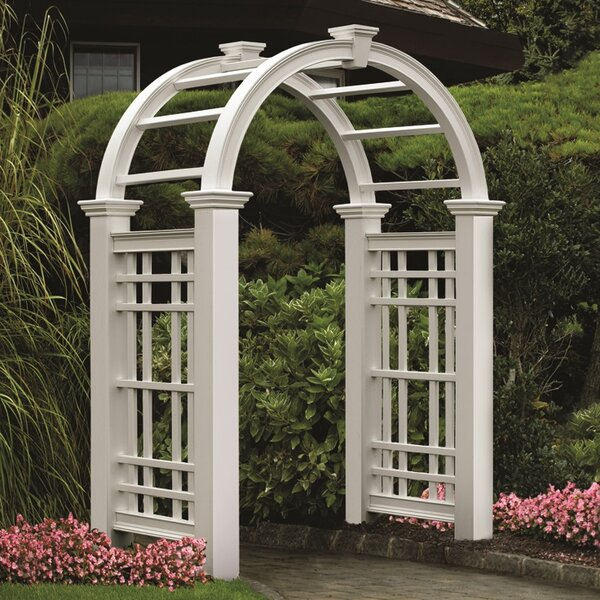 Westchester Vinyl Arbor by New England Arbors