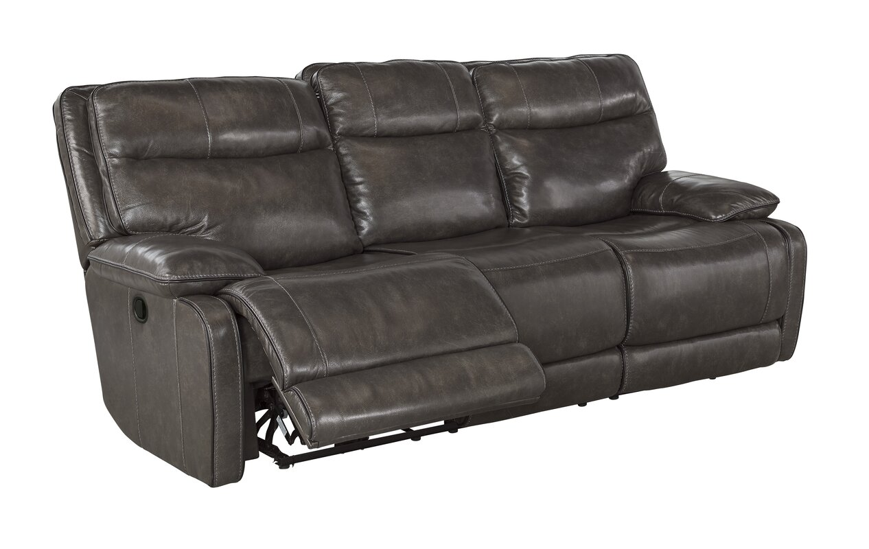 Trent Austin Design Gigi Leather Reclining Sofa Amp Reviews