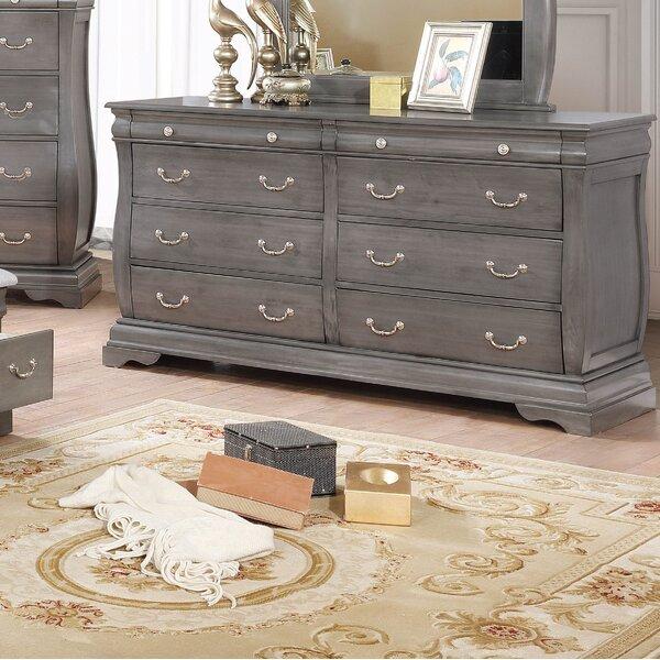 Monge 8 Drawer Double Dresser by One Allium Way