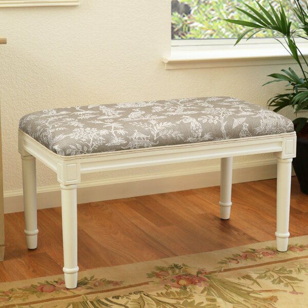 Balduin Canton Garden Wood Bench By House Of Hampton by House of Hampton Today Only Sale