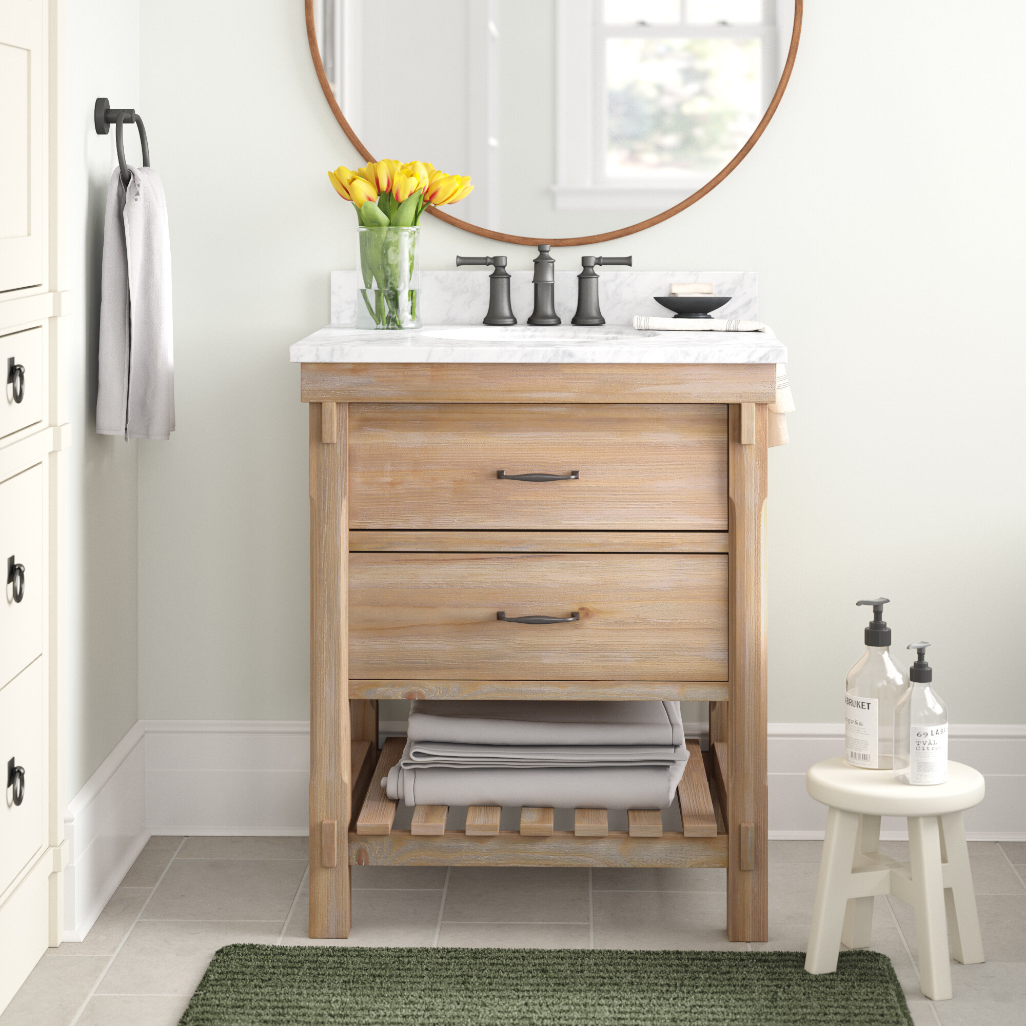Three Posts Kordell 30 Single Bathroom Vanity Set Reviews Wayfair
