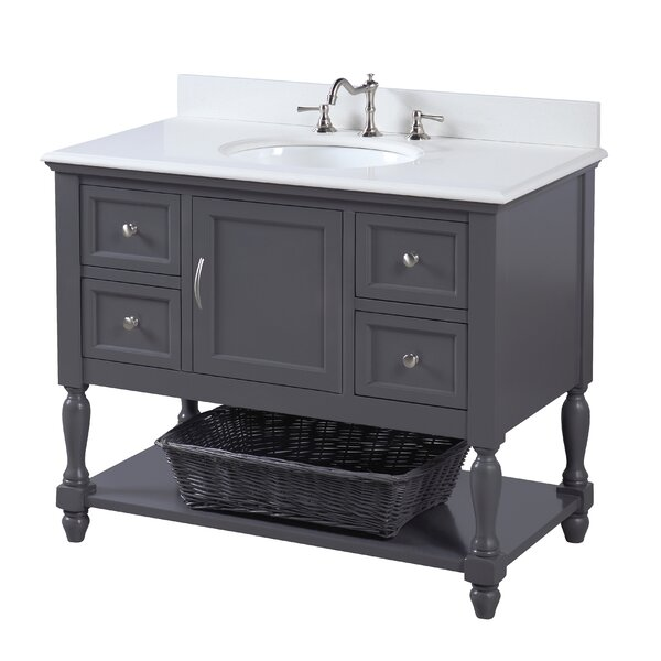 Beverly 42 Single Bathroom Vanity Set by Kitchen Bath Collection
