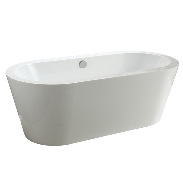 Del Mar 67 x 33 Soaking Bathtub by MTD Vanities