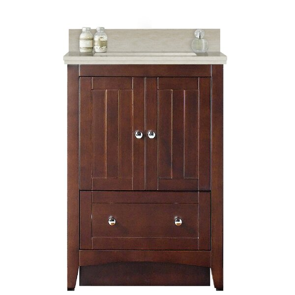 Artic 24 Rectangle Single Bathroom Vanity Set by Longshore Tides